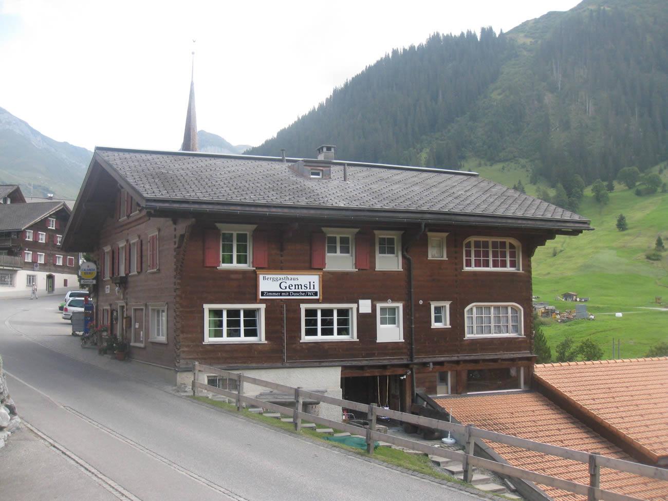 Berggasthaus Gemsli St. Antönien